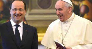 François Hollande rencontrera lors d'une audience privée le pape, au Vatican